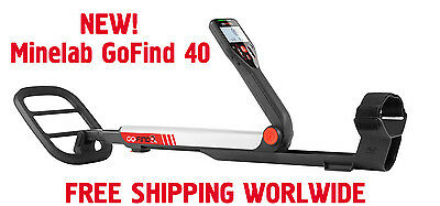NEW Minelab Go Find 40 Metal Detector 10 Waterproof Coil FREE WORLDWIDE SHIPPING