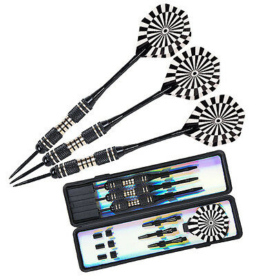Hot Professional Tungsten Steel Tip Darts Set With Dart Flights & Case 22g