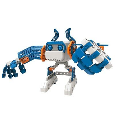 Meccano Personal Robot Micronoid Blue Basher Construction Interact Toy 6031224