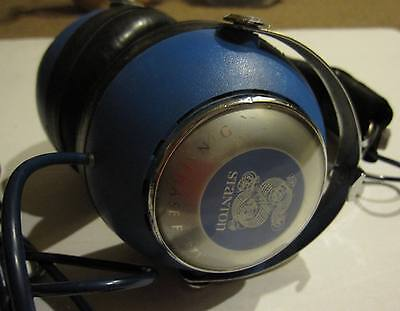 Stanton Dynaphase Forty Retro Stereo Headphones - Blue Ear Cans - Great Sound