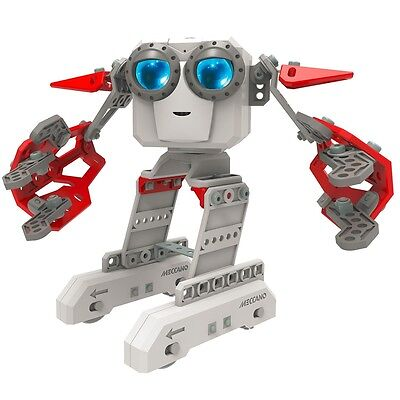 Meccano Personal Robot Micronoid Red Socket Construction Interactive Toy 6031222