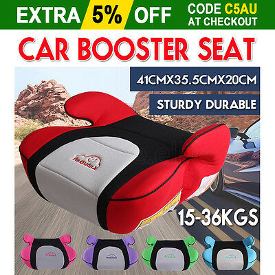 Safe Sturdy Baby Car Booster Seat Kid Children Fit 3 To 12 Years 15-36kg  ECE&AU