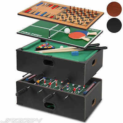 5 in 1 Table Game Football Billiard Table Tennis Chess Backgammon Pool 3 years+