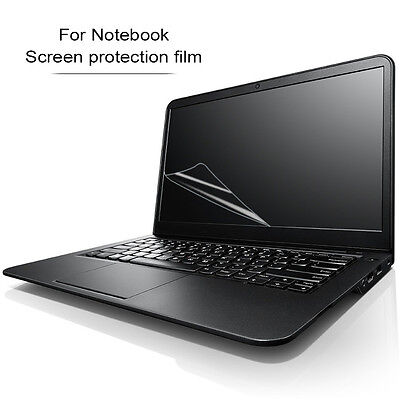 "HD Clear 16:9 Laptop Or Frosted Screen Protector Film Cover 17"" 15"" 14"" 13"" 11"""