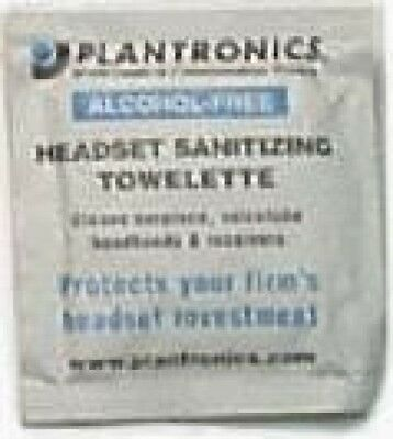 Plantronics Antiseptic Wipes Sterilization Cleaning Cloth | 30 Wipes