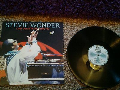 "STEVIE WONDER 12"" SINGLE - I JUST CALLED TO SAY I LOVE YOU/mint"