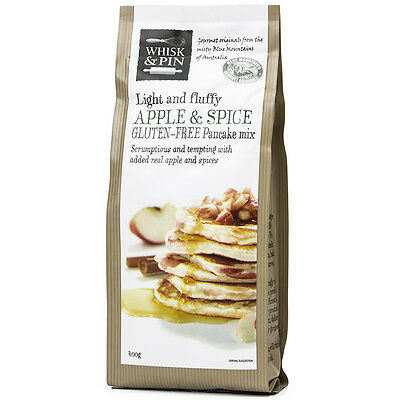 NEW Whisk & Pin Gluten Free Apple And Spice Pancake Mix