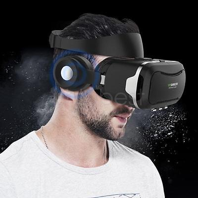 SHINECON 4.0 3D IMAX Panoramic VR Virtual Reality Glasses Box with Earphone NEW