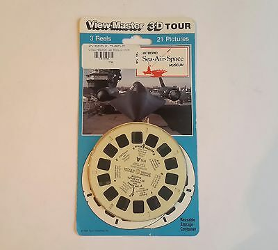 Viewmaster three reel carded set 3d Intrepid Sea Air Space Museum Sealed