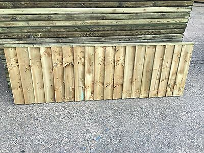 Brand New 6ft x2ft Strong Fully Framed Feather Edge Fence Panel Garden  RRP £24