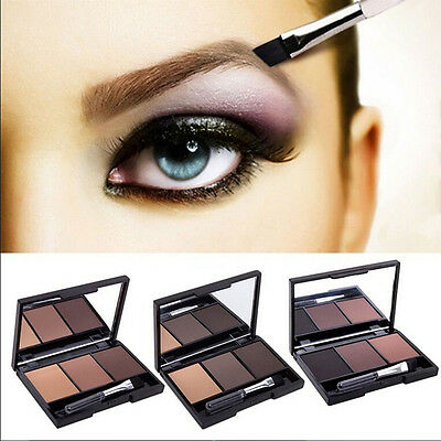 Pro 3 Colour Eyebrow powder kit lasting Make Up Eyebrow Powder/Shadow Fad New FT