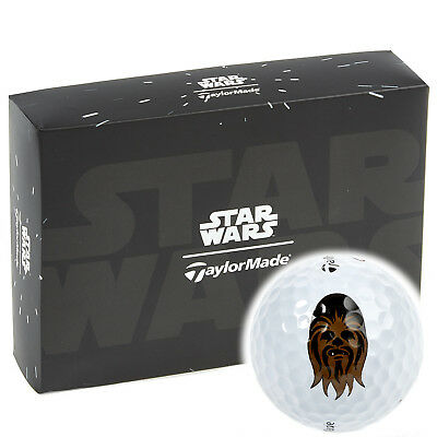 """50% Off"" Taylormade Ltd Edition Star Wars Chewbacca Golf Balls / 3 Ball Pack !!"