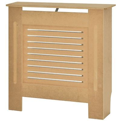 MILTON RADIATOR COVER Small Unfinished MDF Traditional Grill Guard Cover Shelf