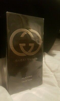GUCCI GUILTY POUR HOMME 50ml EDT Spray By Gucci Men's Perfume