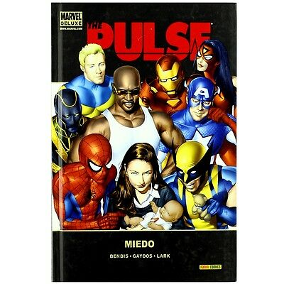 Comic Marvel Deluxe The Pulse Miedo Panini 03