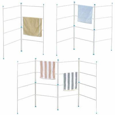 Airer 2 3 4 Section Fold Laundry Horse Dryer Rack Hanger Indoor Outdoor Rail