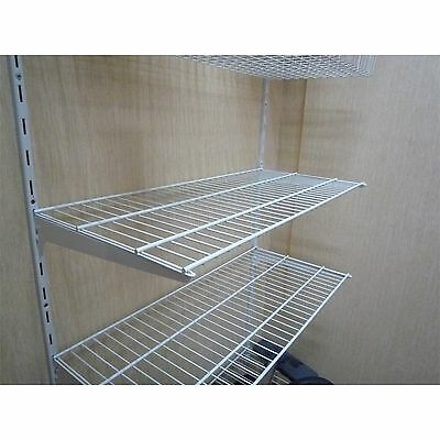 Handy Shelf WIRE SHELF 800x350mm Optimised Storage Space,WHITE *Australian Brand