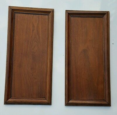 Antique Oak Architectural Panels Accent Pieces