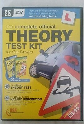 Complete OFFICIAL THEORY TEST KIT THEORY & HAZARD DSA CD/DVD