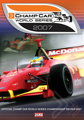 Champ Car World Series Review 2007 - Dvd - Region 0 - Brand New & Sealed