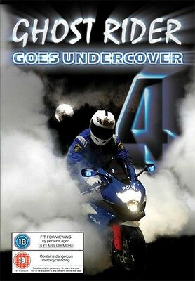 Ghost Rider 4 - Goes Undercover - Dvd - Region 2 - Brand New & Sealed