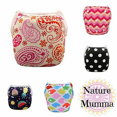 New Reusable Swimming Nappy Adjustable Fit Newborn - Toddler Swimmers Swim Pants