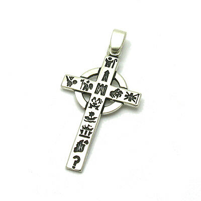 Sterling Silver Pendant Solid 925 Egyptian Cross Pe001120 Empress