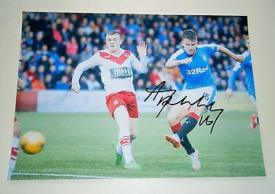Andy Halliday  Rangers Fc Signed Photo