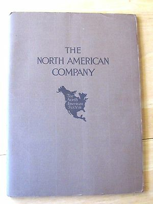 1926 Annual Report Booklet North American Company Electric Power