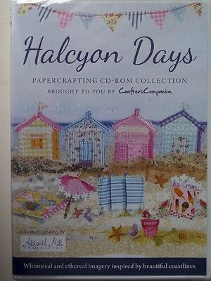 Crafters Companion - Halcyon Days -Papercraft CD New and Sealed.