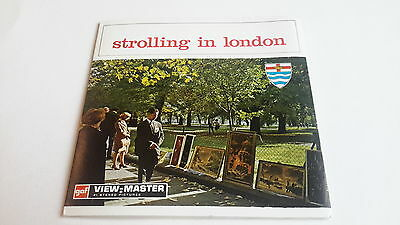 Viewmaster packet set 3d Strolling in London C279