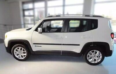 JEEP RENEGADE 2014- Body Side Mouldings Door Molding Protector Trim Cover