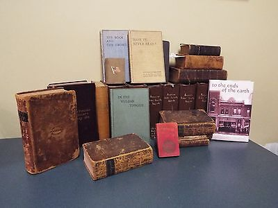 Amercn Bible Society Lg Collection/Archive - See Descript. below 100's of items