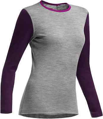 Icebreaker Women's Oasis Long Sleeved Crewe RRP £60.00