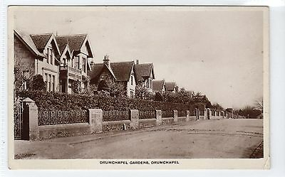 DRUMCHAPEL GARDENS, DRUMCHAPEL: Glasgow postcard (C11486)