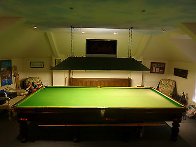 Vintage Full Size Snooker Table