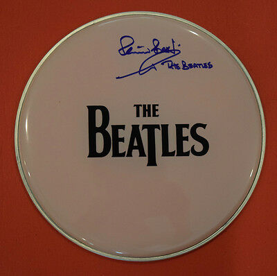 Pete Best Signed Autographed Drumhead The Beatles Exact Proof