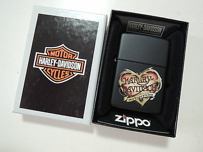 Authentic Zippo Lighter - Harley Davidson 000286 - No Inside Guts Insert