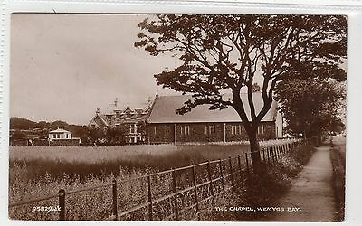 THE CHAPEL, WEMYSS BAY: Renfrewshire postcard (C11161)
