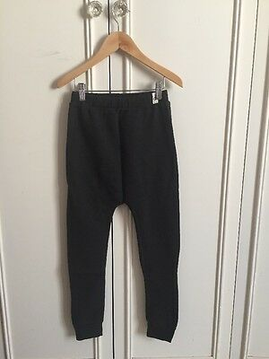Black Baggy Jersey Leggings 8/9 Years By Pop Up Shop