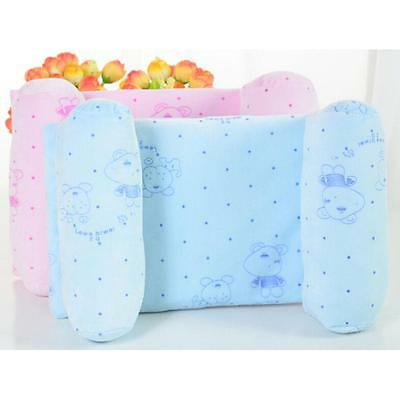 Newborn Infant Baby Anti Roll Pillow Sleep Positioner Prevent Flat Head Hoesell