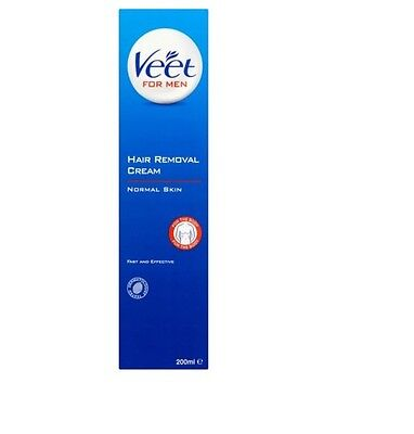Veet for MEN Hair Removal Cream For the Body With Applicator 200ml *NEW*