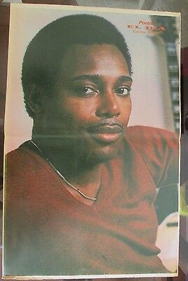 George Benson Celebrity Poster 1982 From A Magazine In Spanish