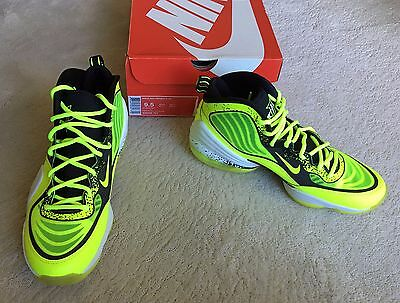 check out 6bc9e 0bd0e brand new in box NIKE AIR max PENNY V HL Volt Black White BASKETBALL SHOES  9.5