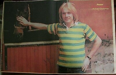 Richard Clayderman Celebrity Poster 1980 From A Magazine In Spanish