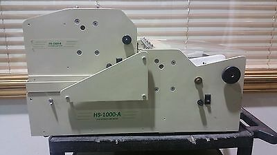 RB Sun HS-1000 A&B Business Card Cutter