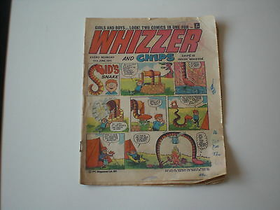 Whizzer and Chips comic. Monday 19th of June, 1971. IPC Magazines Ltd.