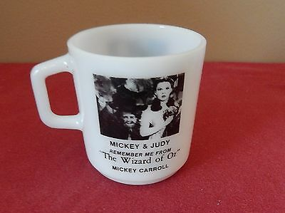 """Remember Me From """"The Wizard of OZ"""" Coffee Cup / Mug    Mickey & Judy"""