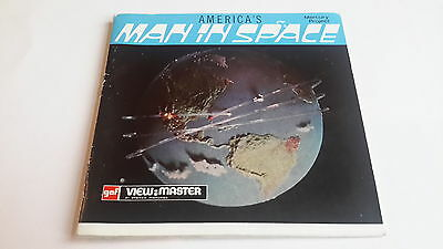 Viewmaster packet set 3d Man in Space