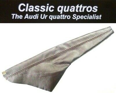 New Brown Leather Hand Brake Gaiter  Audi Ur Quattro Turbo Coupe/coupe/80/90 B2